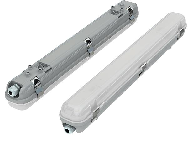 Plafoniera Led Con Emergenza Integrata : Plafoniera barra led arcs ii a potenza media sensore di emergenza